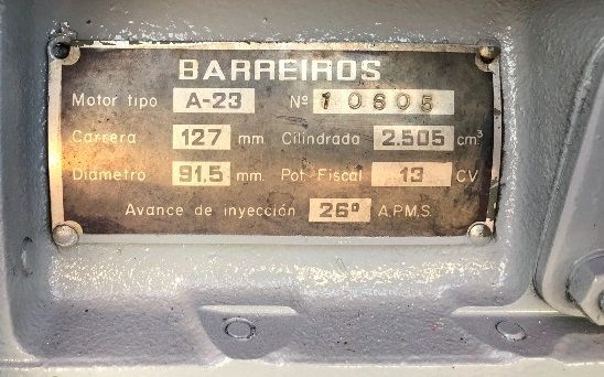 TRACTOR BARREIROS REVISADO REDUCTOR - V 4000 REDUCTORA V4000 FRUTERO - foto 7