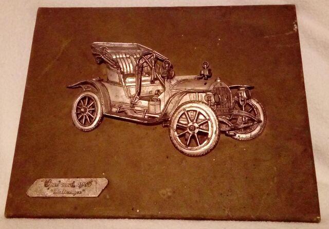 CUADRO RELIEVE OPEL DE 1905 - foto 1