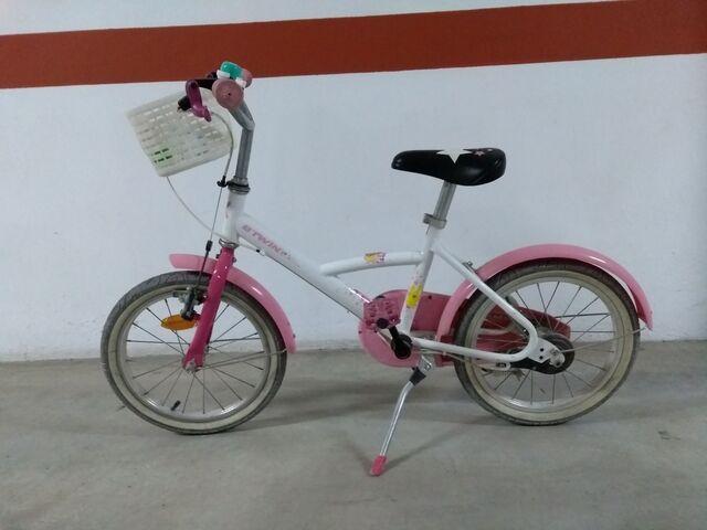 Bicicleta Para Niña De 16 Pulgadas