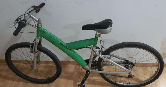 Bicicleta De Montaña 26 Pulgadas Verde