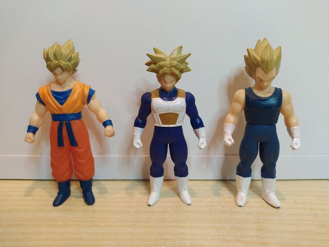 Pack 3 Figuras Dragon Ball Bandai