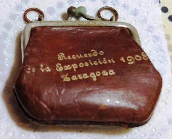 Recuerdo Exposicion 1908 Zaragoza