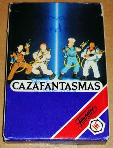 Cazafantasmas Baraja De Cartas Fournier