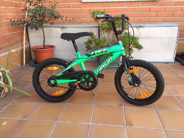 Bicicleta De Niño De Rueda 16 Pulgadas