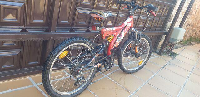 Bici Doble Suspension Niño