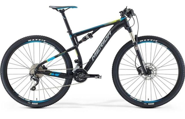 Biciclta Mtb Merida Nine 600 Negra