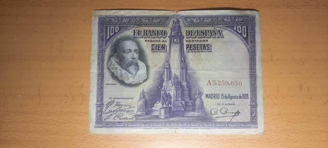 100 Pesetas De 1928