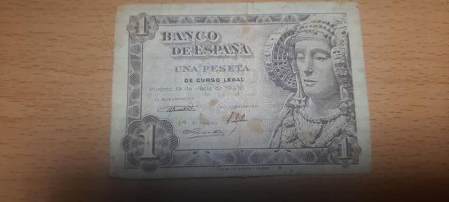1 Peseta 1948