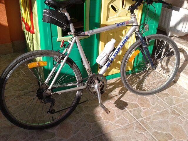 Bicicleta De Aluminio.