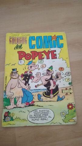Comic Popeye