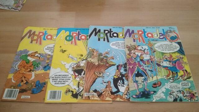 Antiguos Comic Mortadelo Y Filemon