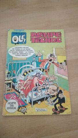 Comic Rompetechos. Serie Ole
