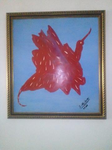 Vendo  Cuadros Pintura Abstracta Óleo