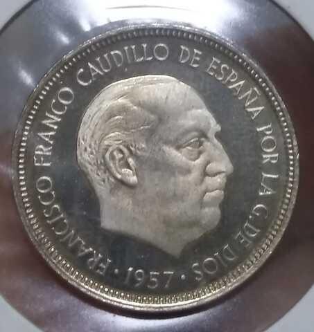 Moneda 5 Pesetas 1957-73 Franco Sc