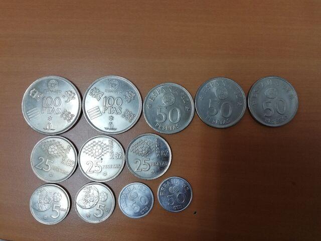 Coleccion Monedas Mundial 82