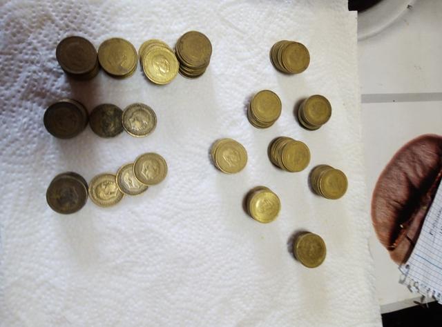 Lote Monedas Franco