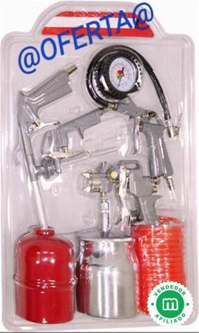 Kit 5 Piezas Para Compresor Solo 3 Unid