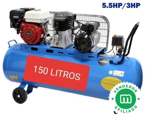 Compresor De 3Cv De Gasolina Y Electrico