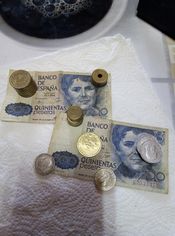 Lote Varias Monedas Rey Juan Carlos