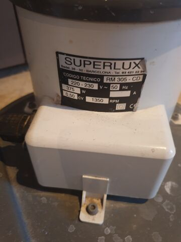 Pulidora Superlux 2 Usos.