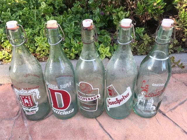 Botellas Antiguas Gaseosa