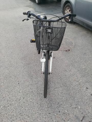 Bicicleta Con Cesta Para Paseo