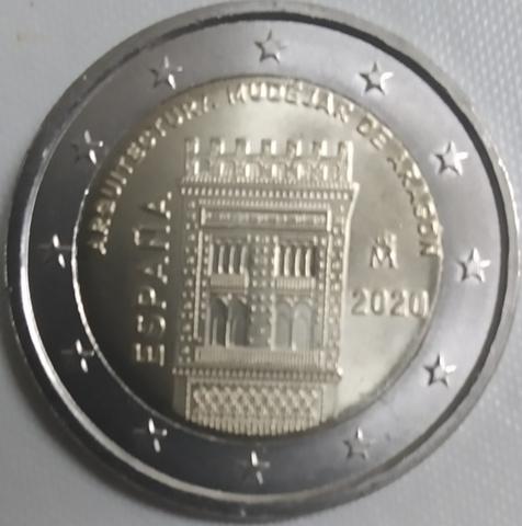 Moneda Conmemorativa 2 Euros España 2020