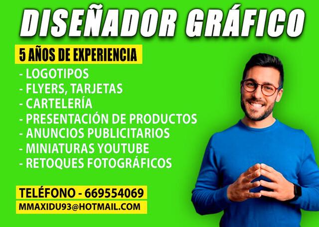 DISEÑADOR GRÁFICO - SEVILLA - foto 1