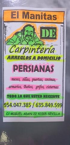 CARPINTERO A DOMICILIO ARREGLOS SEVILLA - foto 1