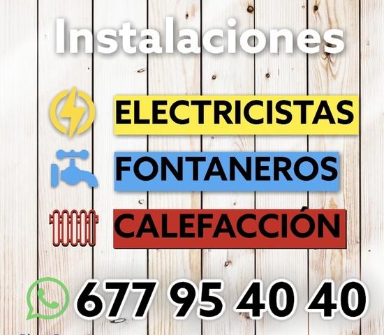 FONTANERÍA-ELECTRICISTA-CALEFACCIÓN - foto 1