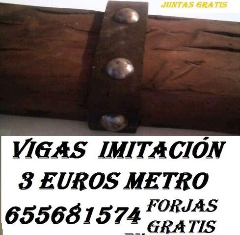 Vigas Imitación Madera Sevilla 655681574