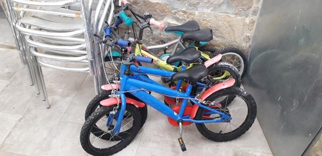 4 Bicicletas Niños