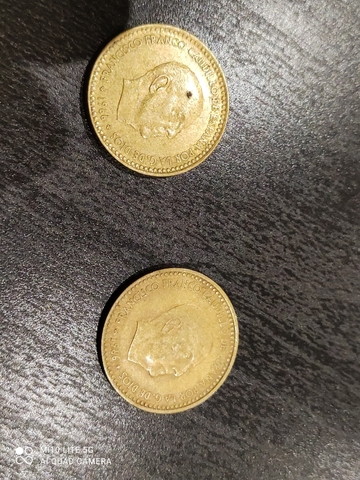 Moneda De Franco 1Peseta 1966