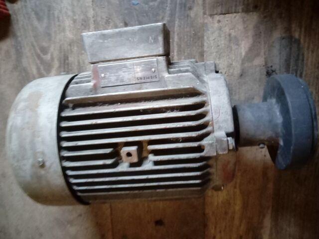 Motor Electrico Trifasico De 3 Cv