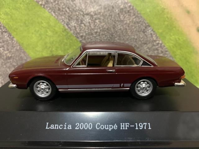 Lancia 2000 Coupé Hf (1971) Escala 1/43
