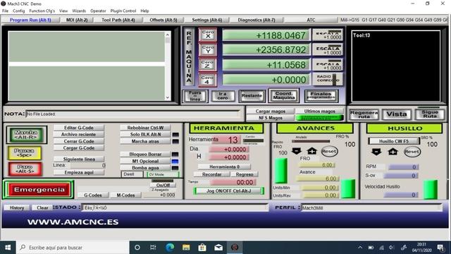 MACH3 ATC CAMBIO DE HERRAMIENTA - foto 1