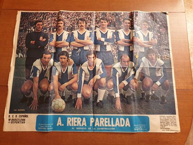 Poster R.C.D. Espanyol