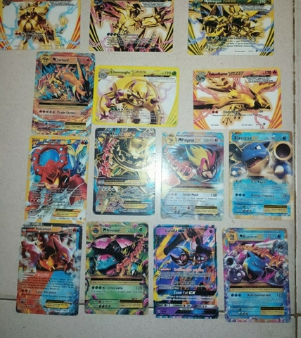 Pokemon Cartas Raras
