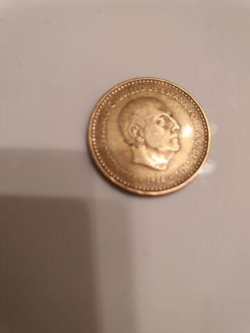 Moneda De 1 Peseta Del Año 1966