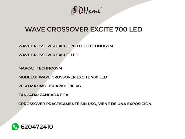 WAVE CROSSOVER EXCITE 700 LED TECHNOGYM - foto 3