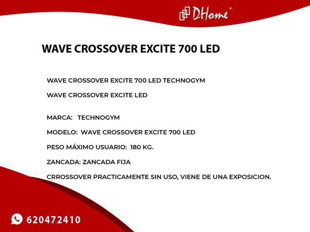 WAVE CROSSOVER EXCITE 700 LED TECHNOGYM - foto 3