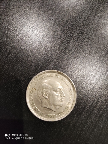 Moneda De Franco 50Pstas