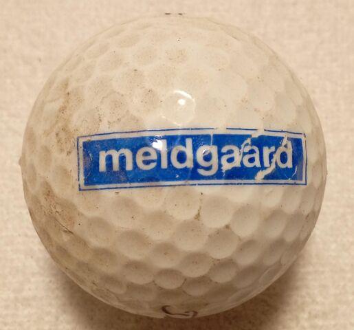 PELOTA DE GOLF MELDGAARD - foto 1