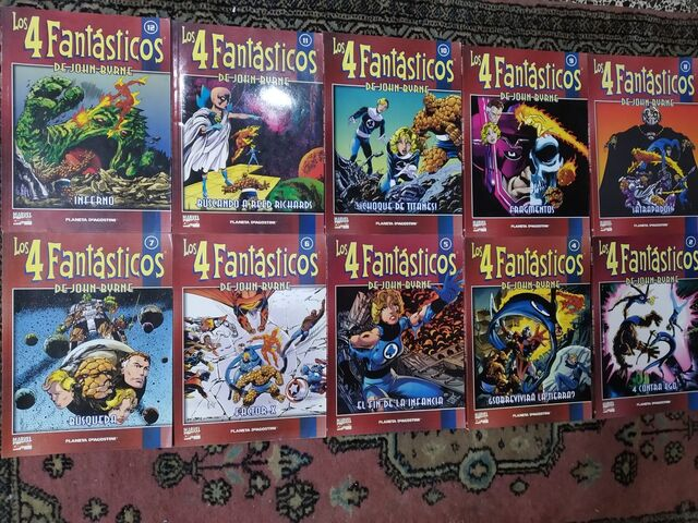 Comics Los 4 Fantásticos