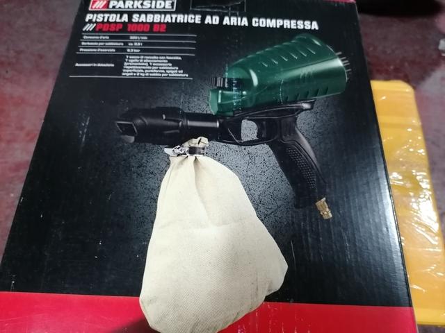 Pistola De Arena Neumática