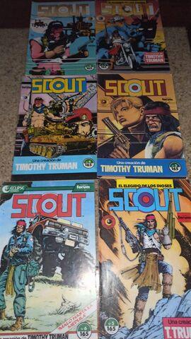 Scout, Comics