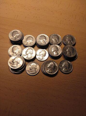 Monedas De 1/4 De Dollar