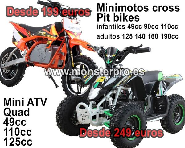 MINIMOTOS PIT BIKES MINI CROSS QUAD - foto 1