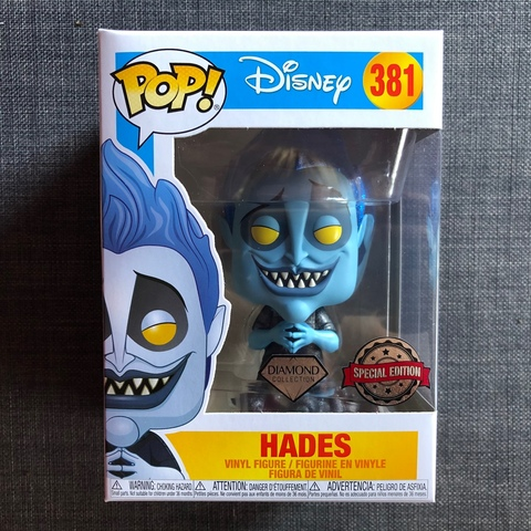 Funko Figura Vinilo Pop! Hades, Hércules