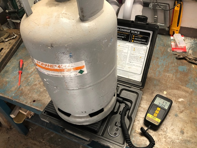 Gas Aire Acondicionado Y Frío R410A ,  R4